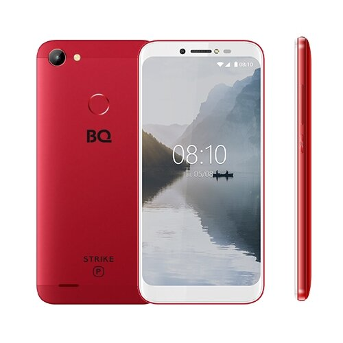 Смартфон BQ 5514G Strike Power красный смартфон