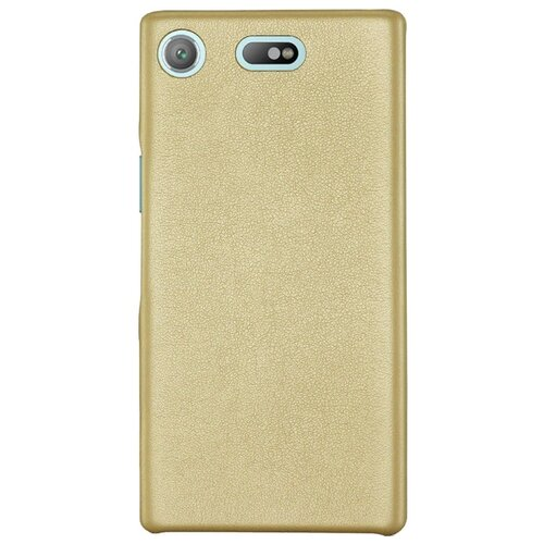 Чехол G-Case Slim Premium для Sony Xperia XZ1 Compact золотой