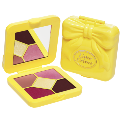 Lime Crime Палетка теней Pocket Candy Lemonade джемпер lime lime mp002xw18xob