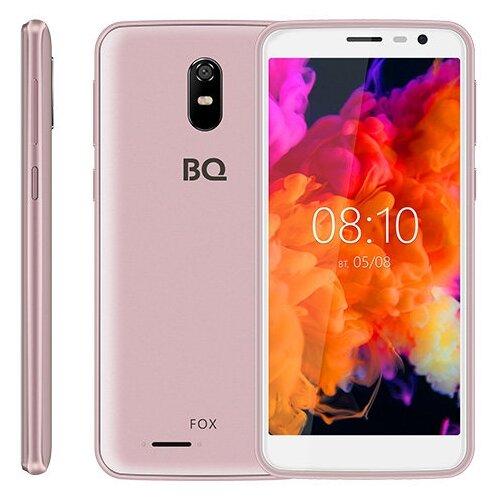 Смартфон BQ 5004G Fox розовый смартфон