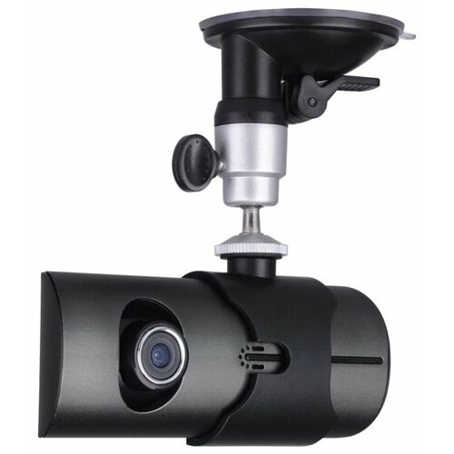 Видеорегистратор Eplutus DVR-R300, 2 камеры, GPS черный