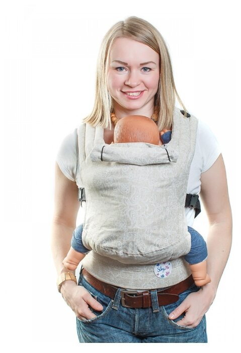 Рюкзак-переноска SlingMe Лен 004