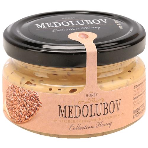 Крем-мед Medolubov Урбеч с семенами льна 100 мл