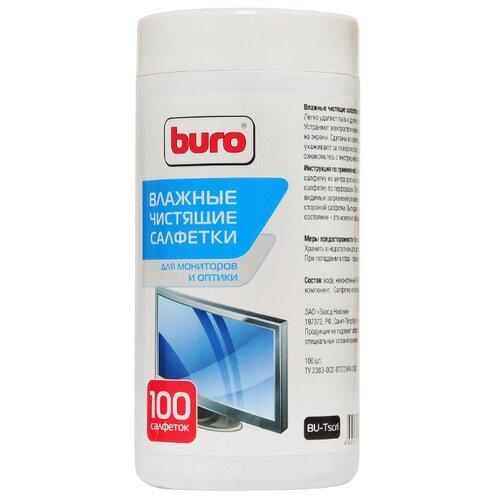 Купить Buro BU-Tscrl влажные салфетки 100 шт. для экрана