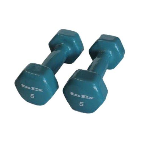 Набор гантелей цельнолитых InEx IN-VD5 2x2.25 кг