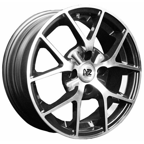 Фото - Колесный диск NZ Wheels SH634 6x14/4x98 D58.6 ET35 BKF колесный диск nz wheels sh665 5 5x14 4x98 d58 6 et35 bkf