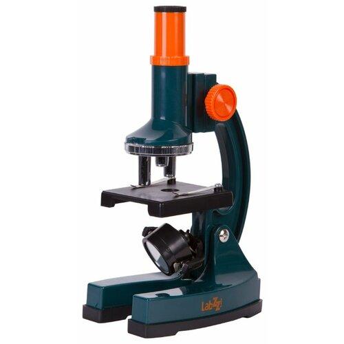Купить Микроскоп LEVENHUK LabZZ M3 синий/оранжевый/черный, Детские микроскопы и телескопы