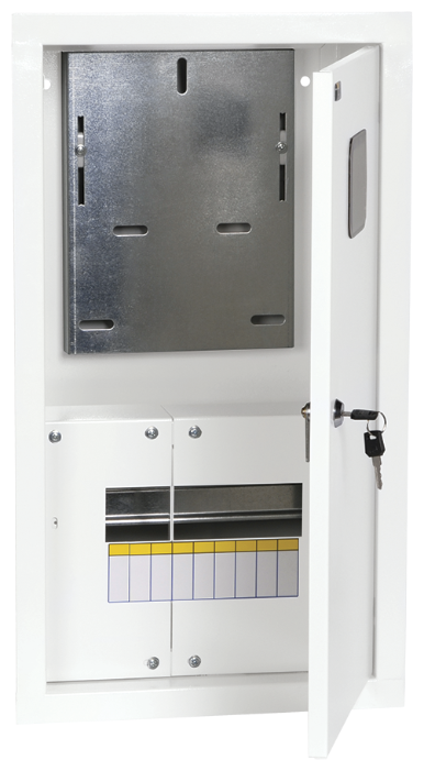 Щит учетно-распределительный IEK встраиваемый, модулей: 9 MKM33-V-09-31-ZO