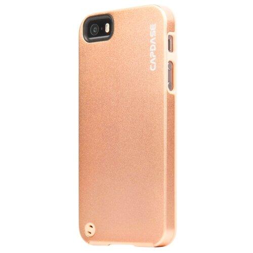 Купить Чехол Capdase Alumor Jacket для Apple iPhone 5/iPhone 5S/iPhone SE золотой