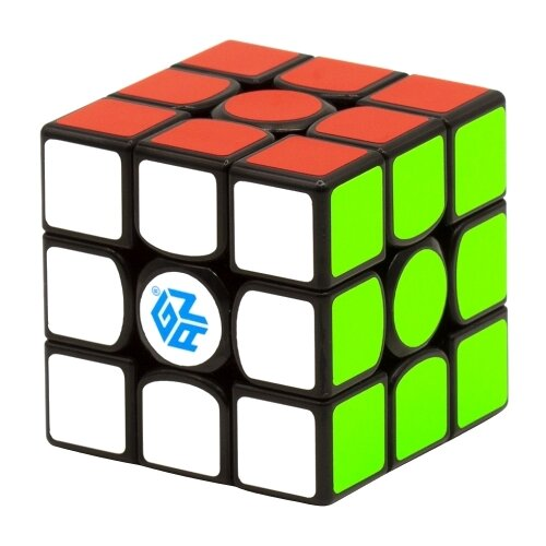Головоломка GAN Cube 3x3x3 356 X Magnetic IPG V5 черныйГоловоломки<br>
