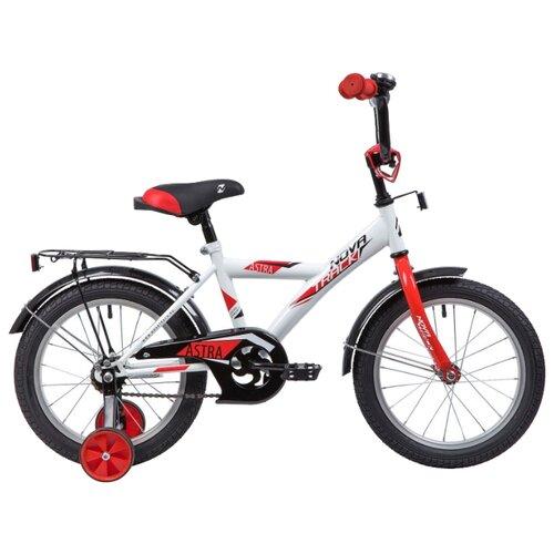 Детский велосипед Novatrack Astra 16 (2019) белый (требует финальной сборки)