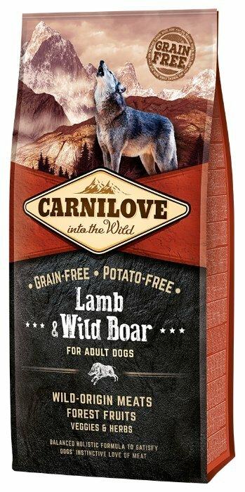 Корм для собак Carnilove Lamb & Wild Boar for adult dogs