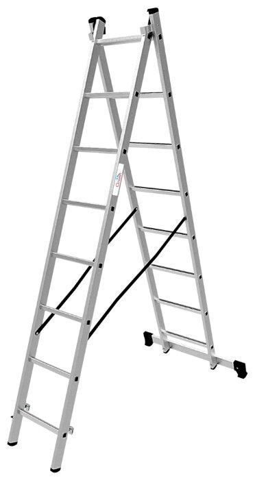 Лестница трансформер 2-секционная ОЛИМП 1220208 A