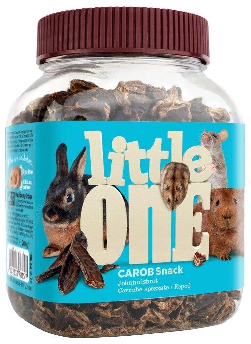 Лакомство для кроликов, грызунов Little One Snack Carob
