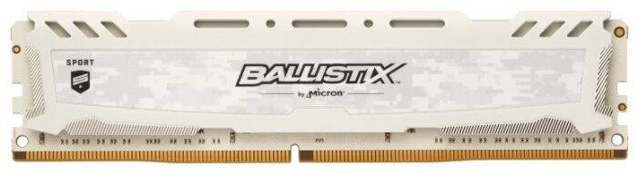 Модуль памяти CRUCIAL Ballistix Sport LT BLS8G4D30AESCK DDR4 - 8Гб 3000, DIMM, Ret