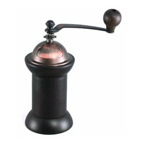 Кофемолка GIPFEL Kolonna 9201 20 см, темно-коричневый