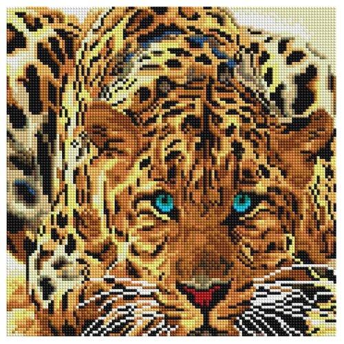 Купить Белоснежка Набор алмазной вышивки Леопард (088-ST-S) 30x30 см, Алмазная вышивка