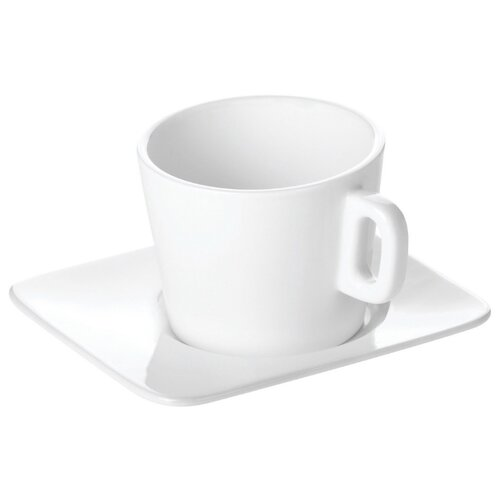 цена Tescoma Кофейная пара Gustito 200 мл белый онлайн в 2017 году