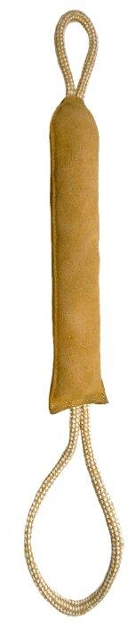 Игрушка для собак Ankur Палочка из буйволиной кожи с петлями 60х6 см