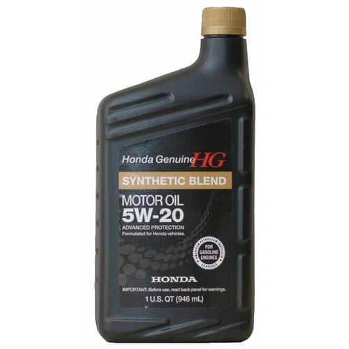 Моторное масло Honda Synthetic Blend 5W20 SN 0.946 л