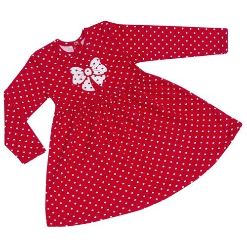 Платье ALENA размер 80-86, красный