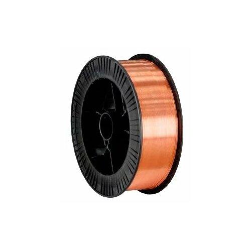 Проволока из металлического сплава FoxWeld ER70S-6 0.6мм 5кг проволока из металлического сплава барс er 70s 6 0 8мм 1кг