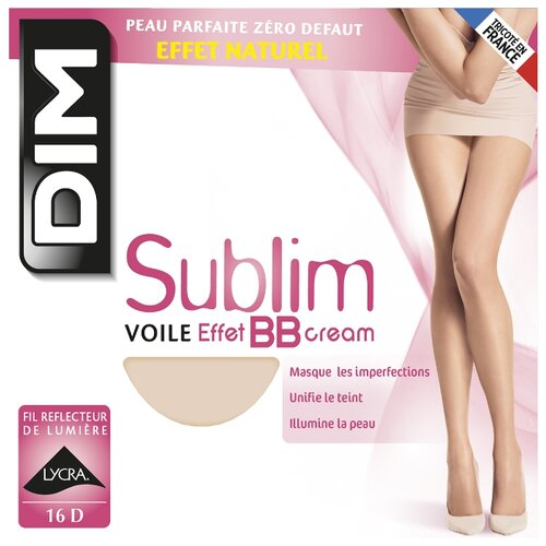 Колготки DIM Sublim Voile Effet BB cream 16 den beige eclat 4 (DIM)Колготки и чулки<br>