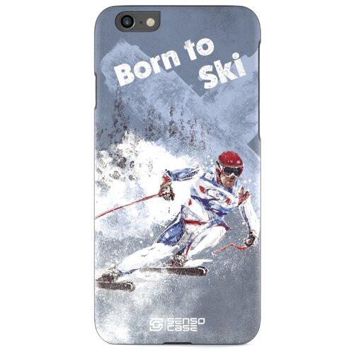 Чехол Sensocase 100043 + защитное стекло для Apple iPhone 6/iPhone 6S лыжный спорт защитное стекло caseguru для apple iphone 6 6s silver logo
