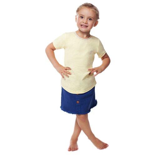 Купить Футболка BUONUMARE размер 86-94, желтый, Футболки и рубашки