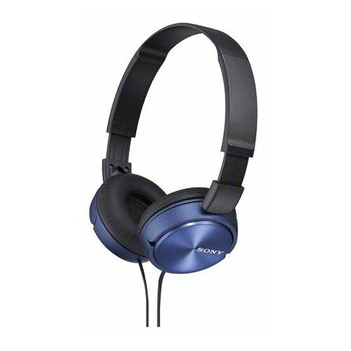 Наушники Sony MDR-ZX310 синий наушники sony mdr zx310 blue