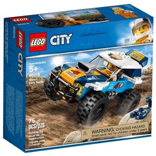Конструктор LEGO City 60218 Участник гонки в пустыне конструктор city lego lego mp002xb00c9t