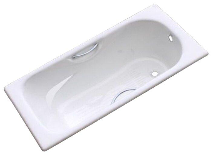 Ванна Azario Split 150x75 чугун угловая