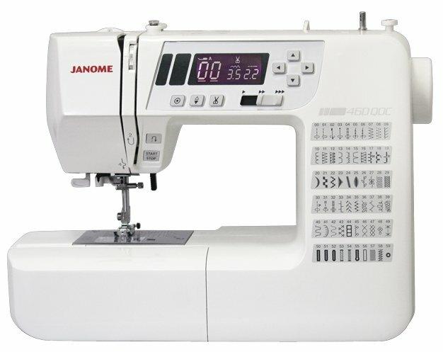 Швейная машина Janome 460 QDC