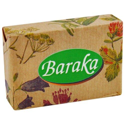 Мыло кусковое Baraka гиппоалергенное Черный тмин и Козье молоко, 100 г