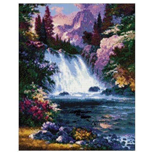 Гранни Алмазная мозаика Водопад (ag1008) 38x48 см
