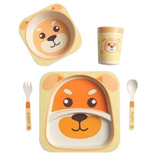 Комплект посуды Baby Ryan BF001 собачка
