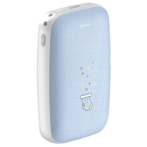 Купить Аккумулятор Baseus Mini Q Power Bank 10000mah голубой