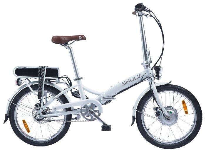 Складной велосипед Shulz E-GOA белый