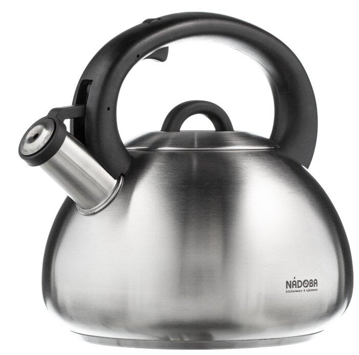 Nadoba Чайник со свистком Virga 731001 3,8 л