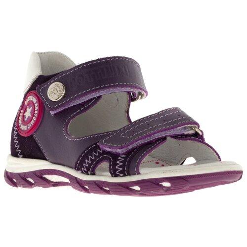 Сандалии Bottilini размер 20, 5 фиолетовыйОбувь для малышей<br>