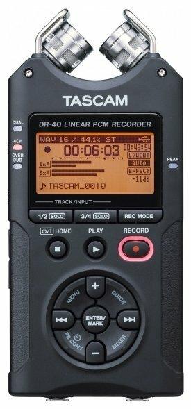 Портативный рекордер Tascam DR-40