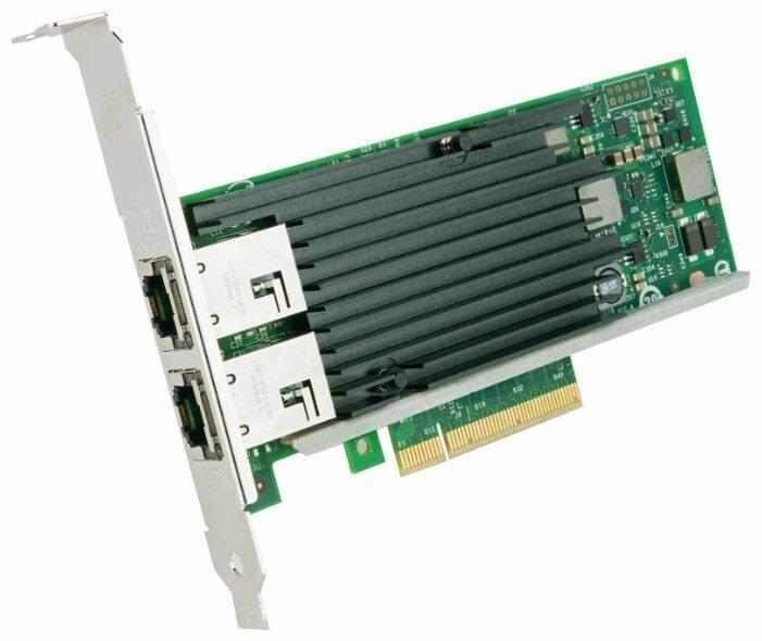 Сетевые карты и адаптеры Сетевая карта Intel X540-T2