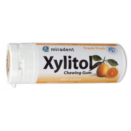 Фото - Жевательная резинка miradent Xylitol Chewing Gum Свежие фрукты, без сахара 30 шт. joe hayes the gum chewing rattler