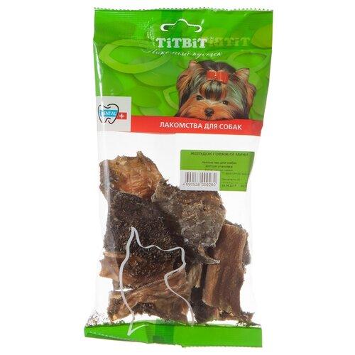 Лакомство для собак Titbit Желудок говяжий мини, 50 г недорого