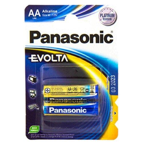 Фото - Батарейка Panasonic Evolta AA/LR6, 2 шт. батарейка panasonic evolta aaa lr03 4 шт