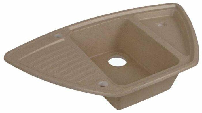 Врезная кухонная мойка АКВАТОН Лория 94х52см искусственный мрамор