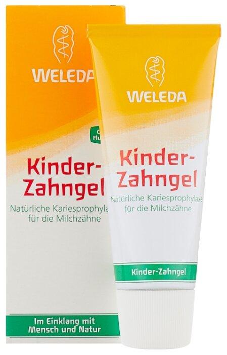 Зубной гель Weleda Kinder Zahngel 1-3 лет