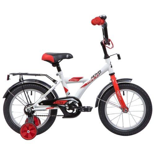 Детский велосипед Novatrack Astra 14 (2019) белый (требует финальной сборки)
