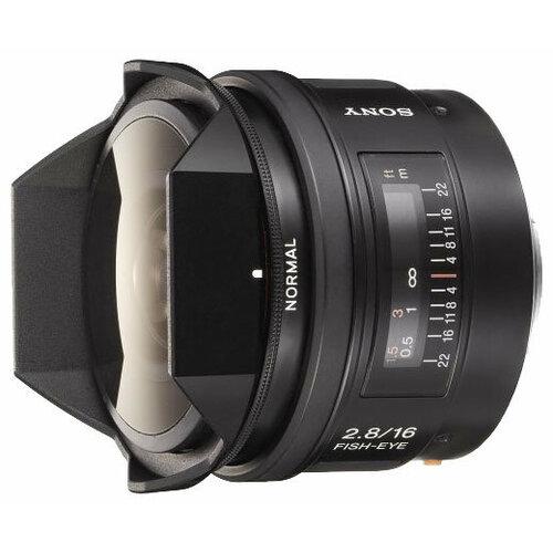 Фото - Объектив Sony 16mm f/2.8 Fisheye (SAL-16F28) объектив sony 16mm f 2 8 fisheye sal 16f28