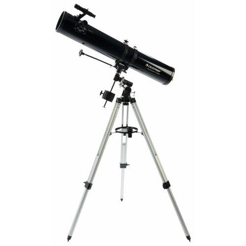 Фото - Телескоп Celestron PowerSeeker 114 EQ черный/серый телескоп celestron powerseeker 80 eq салфетки из микрофибры в подарок
